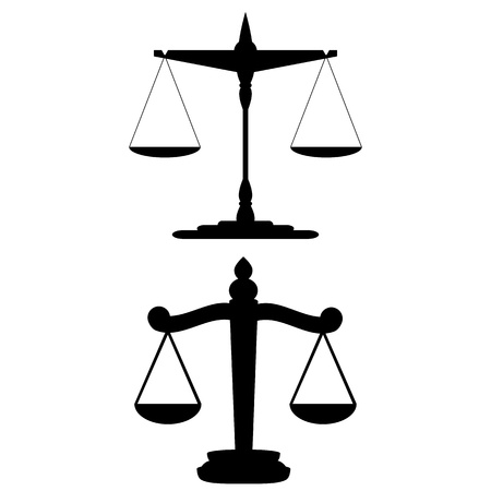 however: Scales of Justice  vector