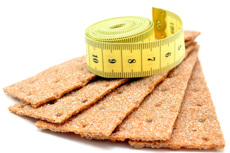 rye bread and measuring tape photo