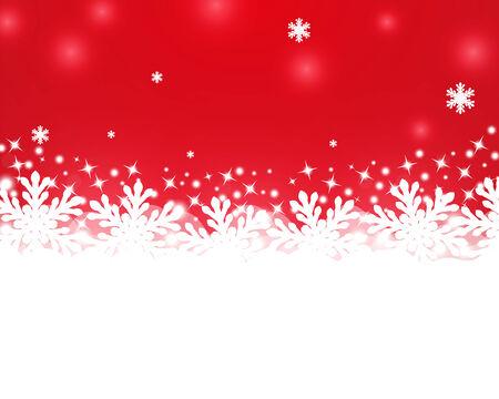 雪のメリー クリスマスの背景