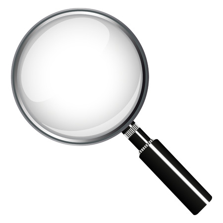 magnifying glass 일러스트