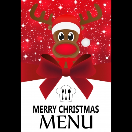Christmas menu Stock Vector - 24518020