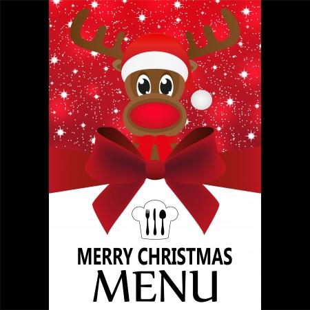 Christmas menu Stock Vector - 24518020