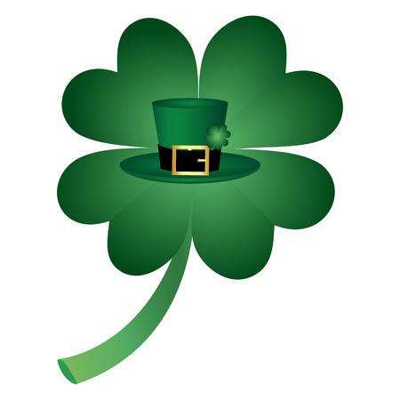 st  patrick's day: symbol of St  Patrick s Day Illustration