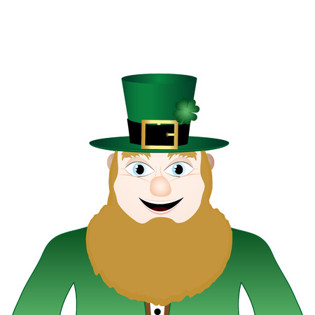 Leprechaun symbol of St  Patrick s Day Vector