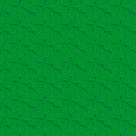 background of green clover
