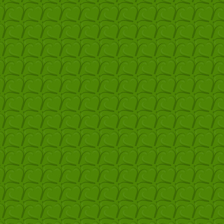 good s: background of green clover