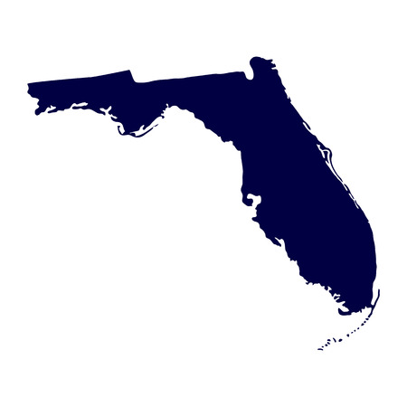 map of the U S  state of Florida