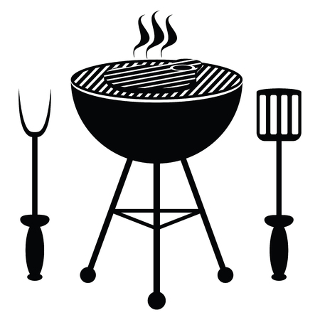 beef steak: filete de carne frita en una parrilla de la barbacoa