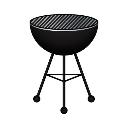 coals: BBQ Grill Illustration