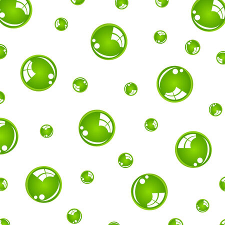 crystal green balls Vector