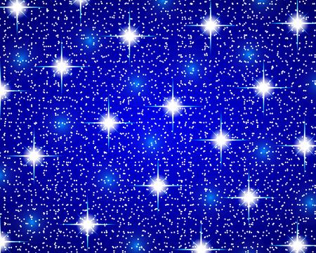 shiny background: Christmas blue shiny background