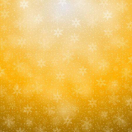 decora: christmas background with snowflakes Illustration