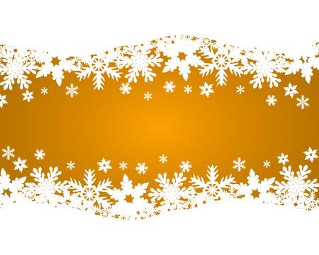 blizzards: Christmas gold background Illustration