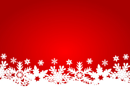 christmas cover: Christmas red background Illustration