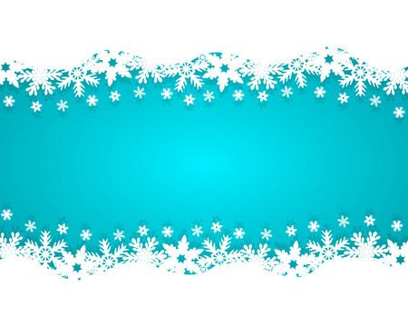 neige noel: No�l sur fond bleu Illustration