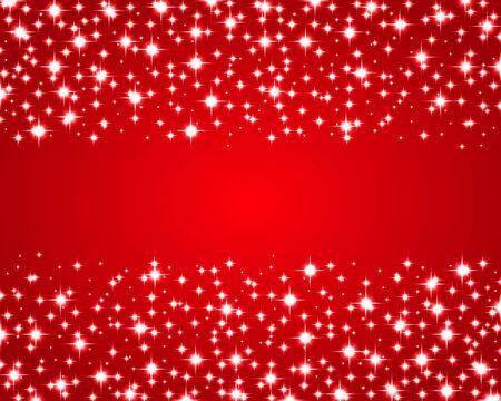 shiny background: Christmas red shiny background Illustration