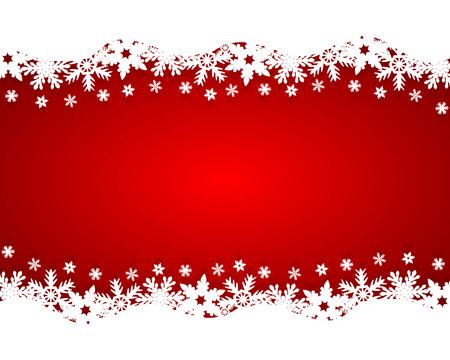 Christmas red background Stock Illustratie