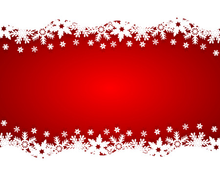 Christmas red background Illustration