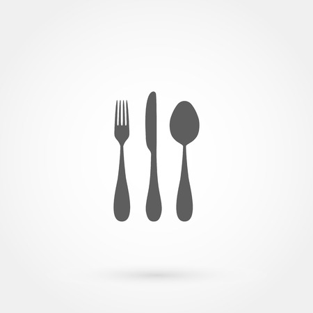 fork knife: cutlery icon (spoon, fork, knife)