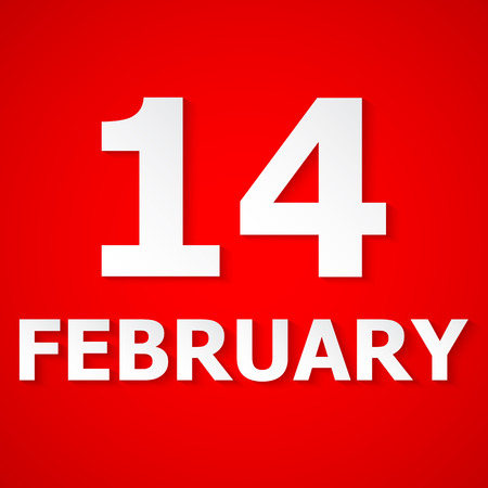 february 14: FEBRUARY 14 Valentines Day