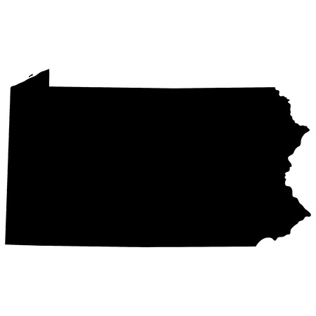 map of the U.S. state of Pennsylvania