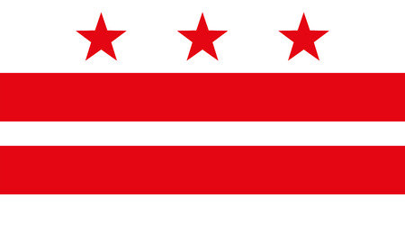 america flag: Flag of the District of Columbia