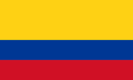 republic of colombia: Flag Colombia