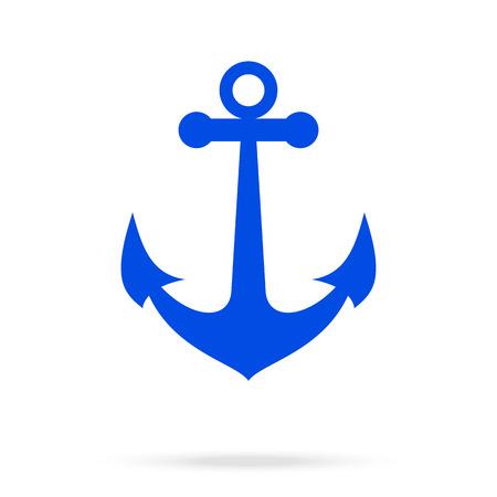 Anchor icon Иллюстрация