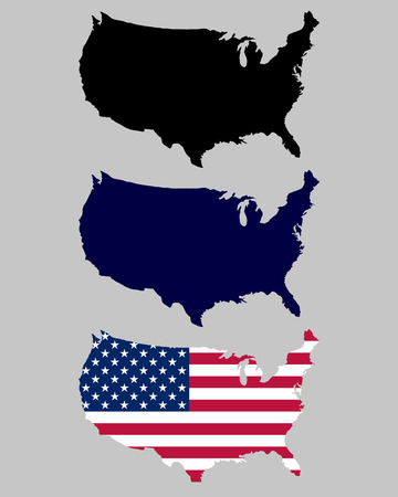 US maps Ilustração