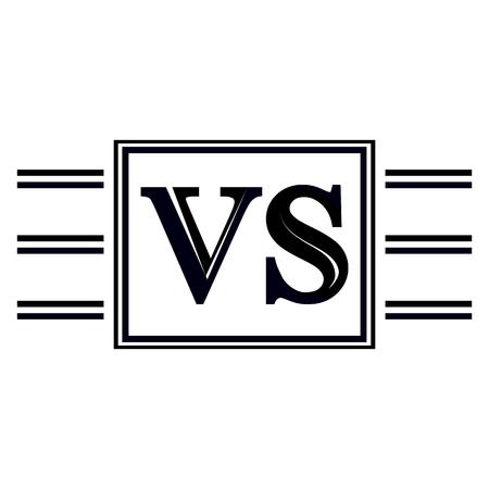 vaincu: Symbole concurrents VS uns contre les autres Illustration