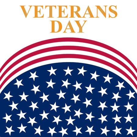 Veterans Day in the US Illustration