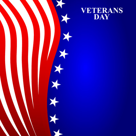 presidents' day: Veterans Day in the US Illustration