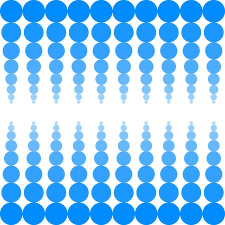 circles: background with blue circles