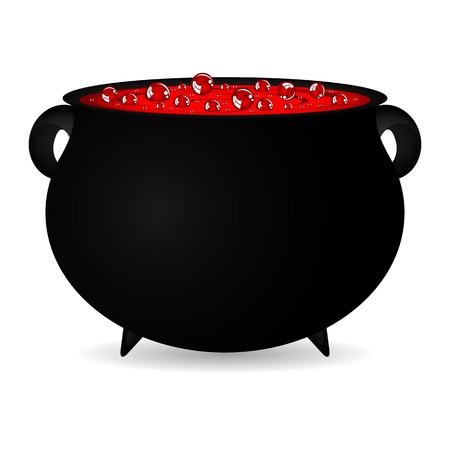 pócima: Caldera de las brujas de Halloween poción