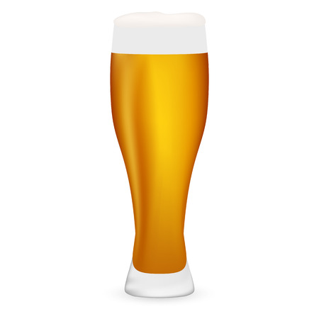 gold buckle: beer on white background