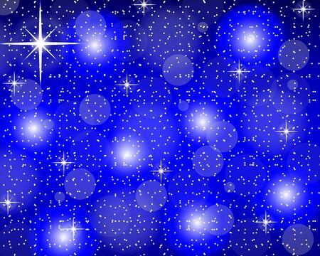 Weihnachten blauem Hintergrund