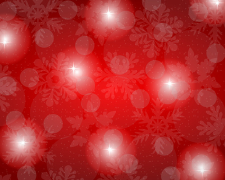 Christmas red background Vectores