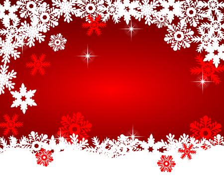 Christmas red background Ilustração