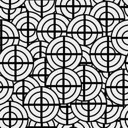 nouveau design: seamless texture geometric shapes patterns Nouveau design Illustration