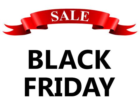 big sale: Big Sale Black Friday Illustration
