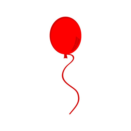 red balloon: Red balloon icon
