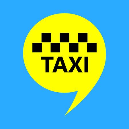 simbol: chiamata taxi icona illustrazione vettoriale di design simbolo di pubblicità
