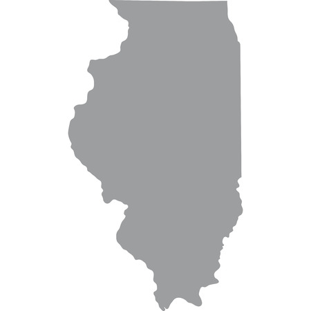 illinois: map of the U.S. state of Illinois