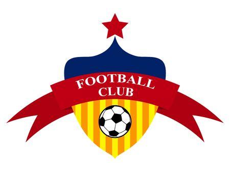 icon design Football Club emblem illustration