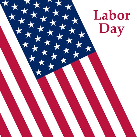 Labor Day holiday in the United States. Vector illustration Illustration