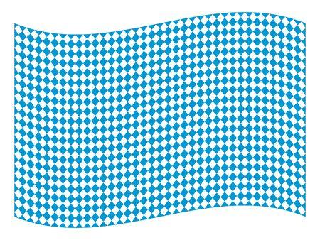 wiesn: Oktoberfest Bavarian flag symbol background illustration pattern