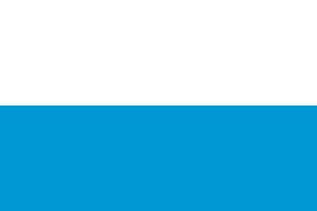 bavaria: Official national flag of Bavaria. background vector illustration