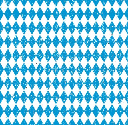 wiesn: Oktoberfest Bavarian flag symbol background vector illustration Illustration