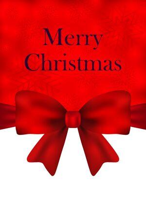 Christmas menu greeting festive menu vector illustration
