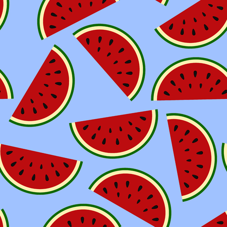 Wallpaper juicy summer watermelon slices on a white background.T